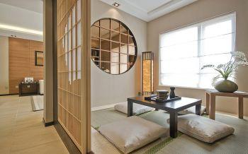 异域日式家居三居室装修案例图