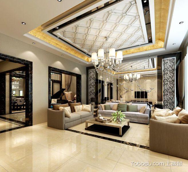 最新简欧风格楼房装修案例效果图