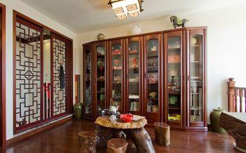 中式传统式家居别墅装修案例