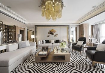2020古典110平米装修设计 2020古典三居室装修设计图片