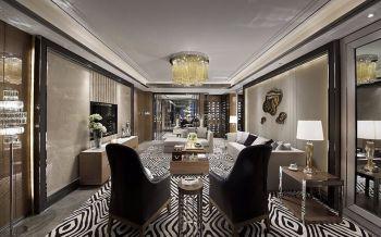 客厅吊顶古典风格装饰效果图