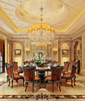 自建房别墅现代欧式风格四居室装修效果