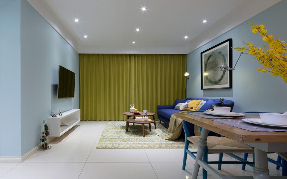 2室1卫1厅78平米现代简约风格