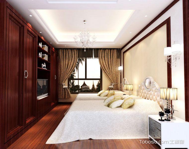 美式奢华别墅室内装修案例图