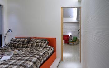 卧室背景墙后现代风格装饰图片
