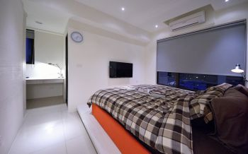 卧室后现代风格装潢图片