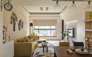 客厅飘窗北欧风格效果图