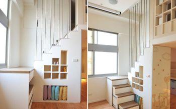 楼梯简约风格装饰设计图片