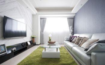 嘉和银领时代现代舒适两居装修效果图