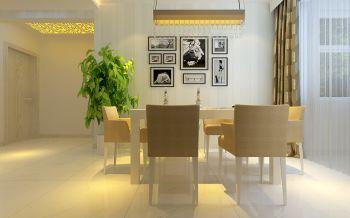 餐厅照片墙简约风格装修图片