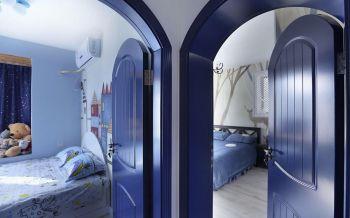 卧室推拉门欧式风格装饰图片