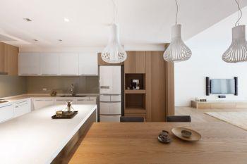 厨房简约风格装饰设计图片