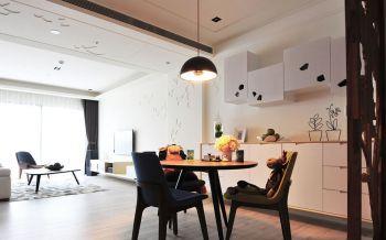 餐厅简约风格装潢设计图片