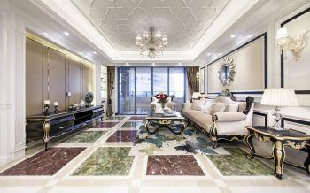 东方一品欧式风格奢华四居室装修图片