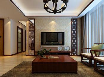 2020中式150平米效果图 2020中式公寓装修设计