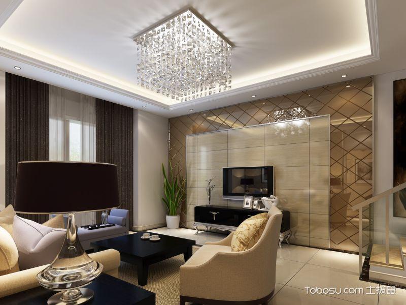 绵阳清华苑134平米现代风格案例图
