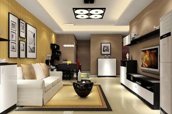 4万预算100平米三室两厅装修效果图