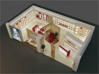 中山歐帝爾照明專賣店室內設計效果圖