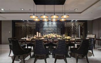 餐厅吊顶古典风格装修效果图