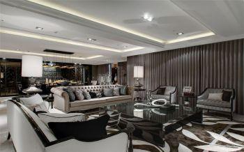 客厅窗帘古典风格装饰效果图