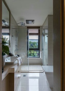 卫生间中式风格装饰效果图