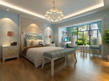 卧室书桌欧式风格装潢效果图