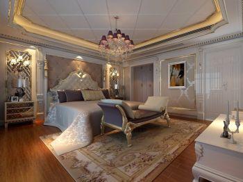 卧室床欧式风格装修图片