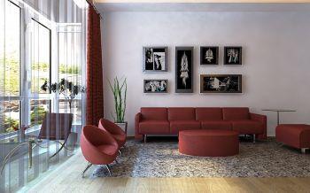 4.5万预算100平米两室两厅装修效果图