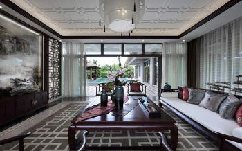 中式风格庭院混搭装修效果图