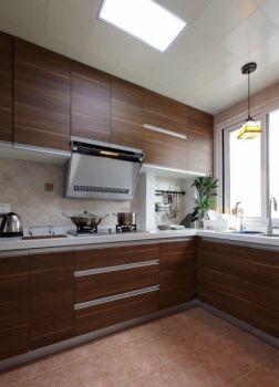 厨房现代简约风格装饰效果图
