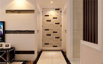 白色走廊现代简约风格装潢设计图片