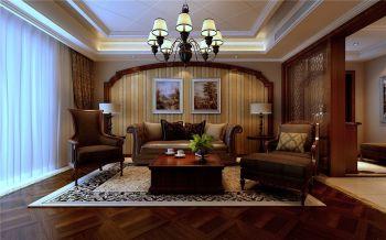 融侨观邸美式风格大户型家居效果图