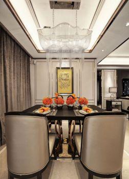 餐厅窗帘新古典风格装修效果图