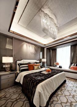 卧室新古典风格装潢效果图