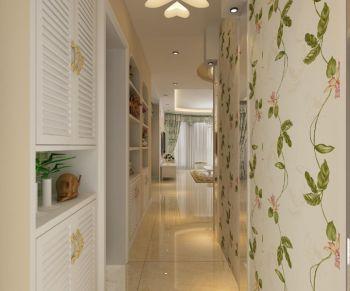 玄关走廊田园风格装饰图片