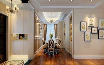 餐厅走廊简欧风格装修效果图