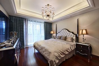 卧室窗帘现代欧式风格装饰设计图片