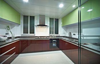 厨房隔断现代欧式风格装修图片