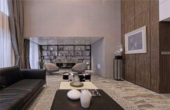 客厅博古架现代风格装潢效果图