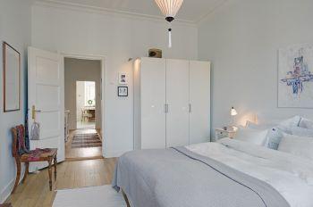 卧室照片墙简约风格装饰效果图