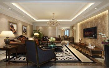 20万预算160平米四室两厅装修效果图