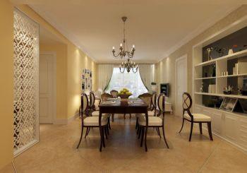 蓝海现代城现代欧式三居室装修效果图