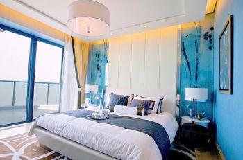 荷塘月色120平米地中海风格三居室装修案例图