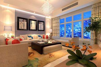 6万预算120平米四室两厅装修效果图