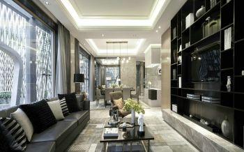 仙林亚东城现代简约四居室装修案例图