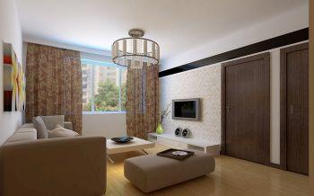 金色家园三居室现代简约设计效果图