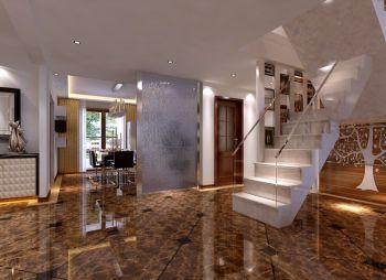 楼梯现代简约风格装饰图片