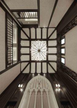 客厅吊顶欧式风格装饰图片