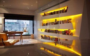 书房简约风格效果图