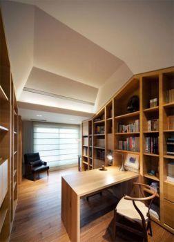 书房混搭风格装潢图片
